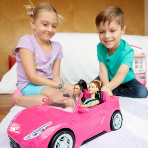ihocon: Barbie Glam Convertible 芭比敞篷車 (車子only)