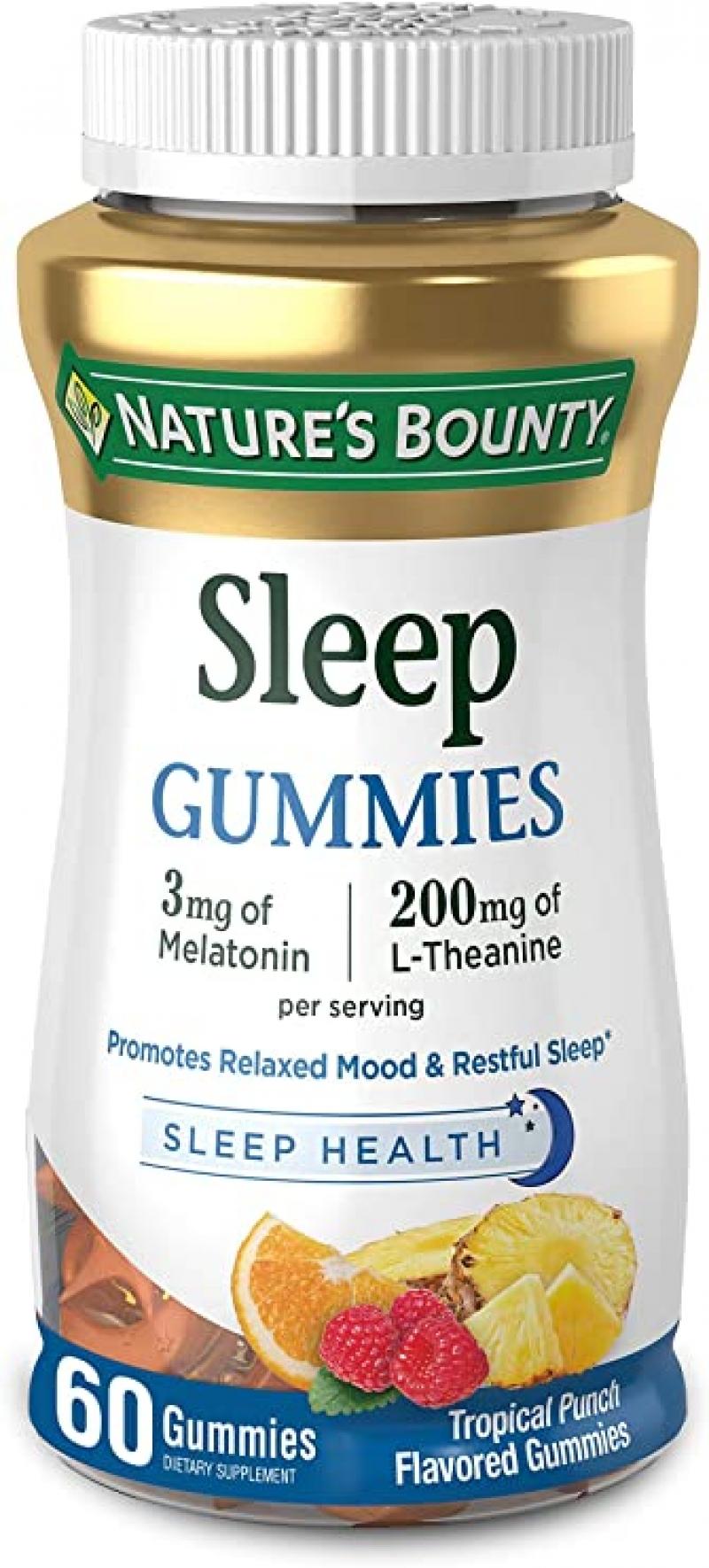ihocon: [幫助睡眠] Nature's Bounty Melatonin 褪黑激素軟糖 60粒