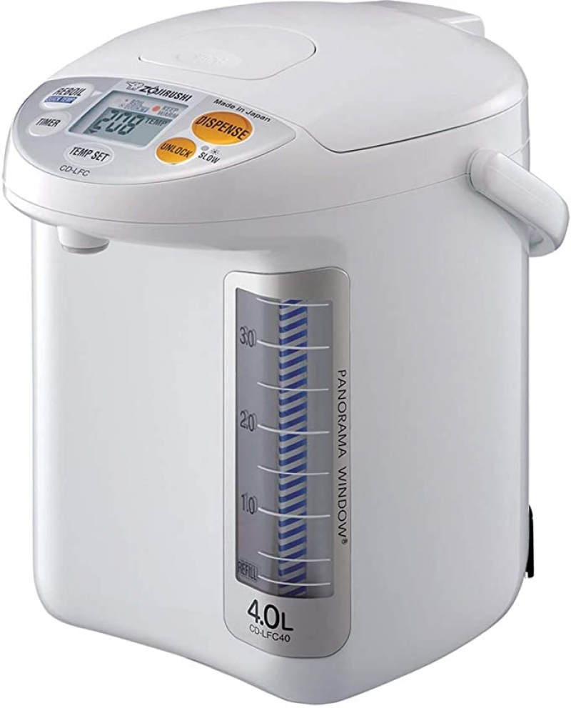 ihocon: Zojirushi CD-LFC30 Panorama Window Micom Water Boiler and Warmer, 101 oz/3.0 L 電熱水瓶
