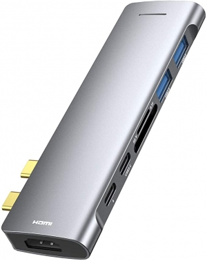 ihocon: RAYROW 7-in-1 USB C Hub