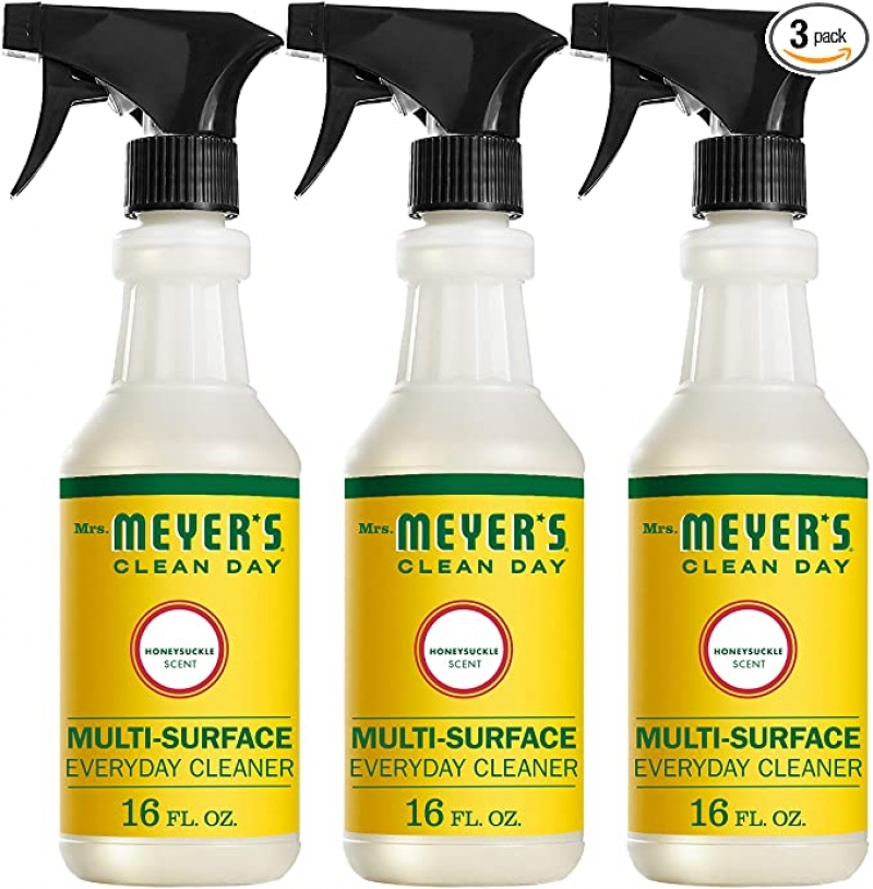 ihocon: Mrs. Meyer's Clean Day Multi-Surface Everyday Cleaner, Honeysuckle Scent, 16 oz- Pack of 3 萬用清潔劑