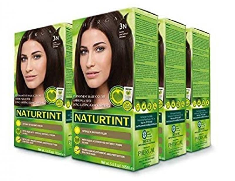 ihocon: Naturtint Permanent Hair Color 3N Dark Chestnut Brown (Pack of 6) 染髮劑