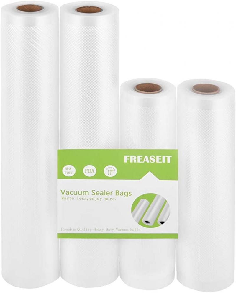 ihocon: FREASEIT Vacuum Sealer Bags Rolls for Food, Commercial Grade 真空密封袋 4捲