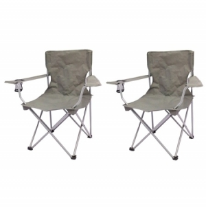 ihocon: Ozark Trail Quad Folding Camp Chair 2 Pack 折疊椅