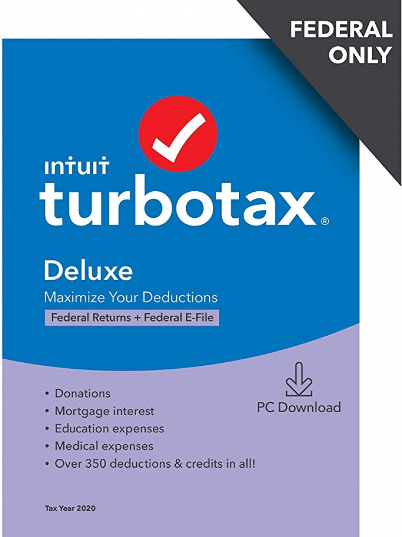 ihocon: [報稅軟體] Turbo Tax Deluxe - Federal only (NO State)
