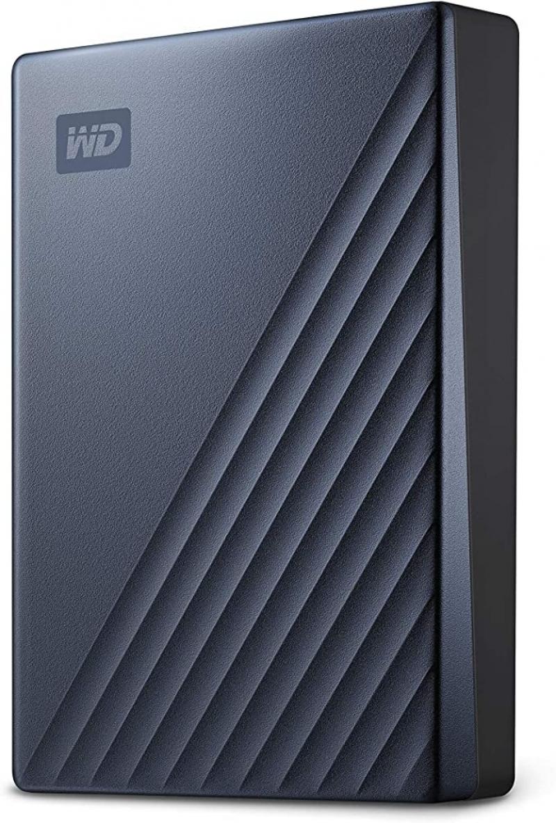 ihocon: WD5Tb MyPassportUltra Blue Portable External Hard Drive, USB-C 便攜式外接硬碟