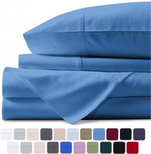 [Amazon今日特價] Mayfair Linen 100% 純埃及棉, 800 Thread Count床單枕頭套組- 多色可選, 各種尺寸 $47.24起