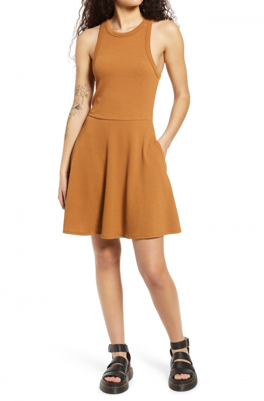 ihocon: BP Scoop Neck Ribbed Tank Dress女士洋裝