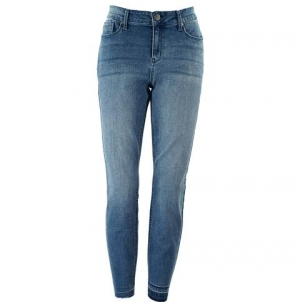 ihocon: Kenneth Cole New York Women's Jess Skinny Bottom-Hem Jeans女士牛仔褲