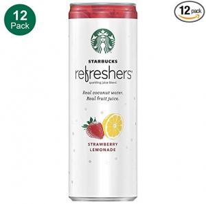 Starbucks, Refreshers 12罐 $15.95免運(原價$21.26)