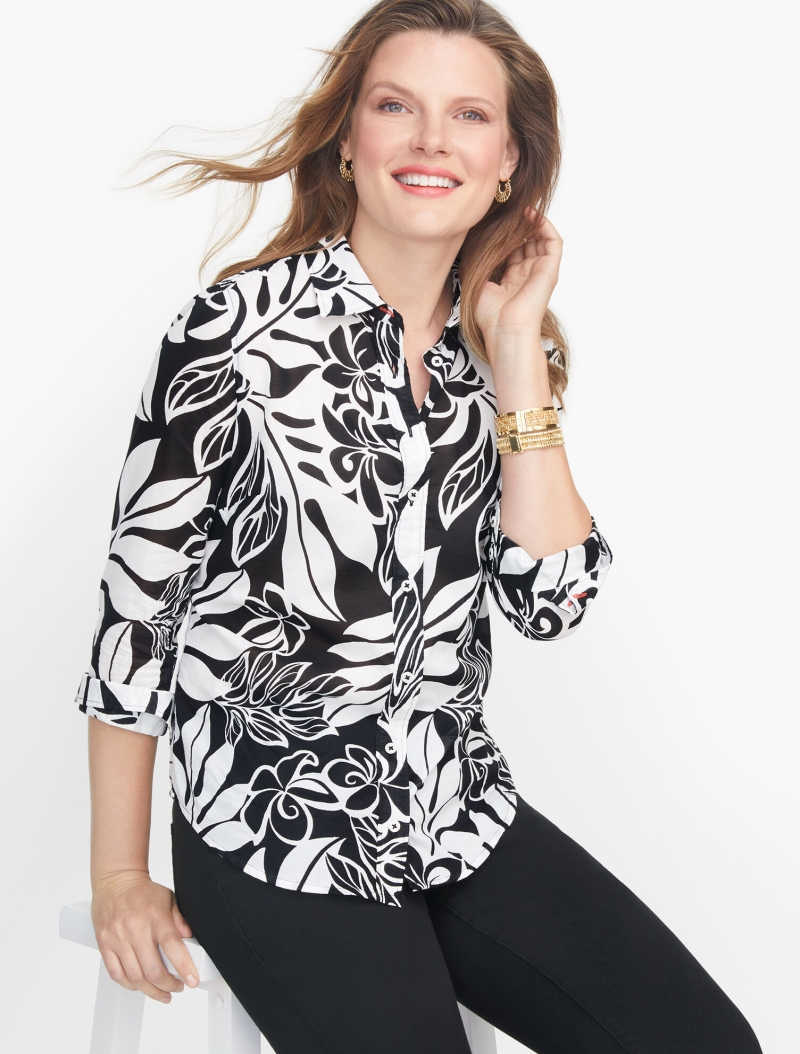 ihocon: Talbots Classic Cotton Shirt 純棉襯衫