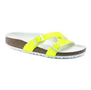 ihocon: Birkenstock Women's Yao Balance Birko-Flor Neon Sandals 勃肯女士螢光鞋