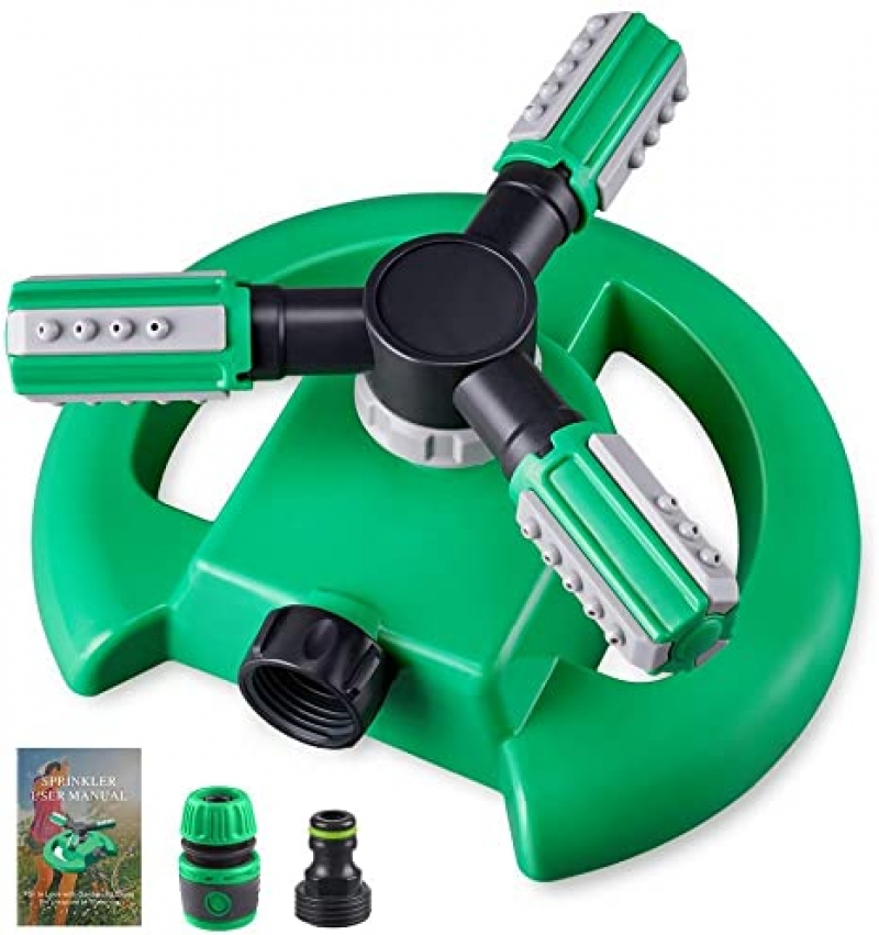 ihocon: Hinastar Lawn Sprinkler 360 Degree Rotation 360度旋轉草坪灑水器