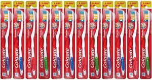 ihocon: Colgate Premier Classic Clean Medium Toothbrush  (Card of 12) 高露潔牙刷