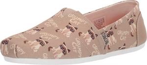 ihocon: Skechers BOBS Plush Crabby Womens Slip On Flats女鞋