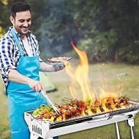 ihocon: Winwintom Charcoal Grill Kabab grills Portable BBQ - Stainless Steel不銹鋼便攜碳烤爐