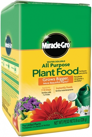ihocon: Miracle-Gro Water Soluble All Purpose Plant Food, 8 oz. 水溶性萬用肥料