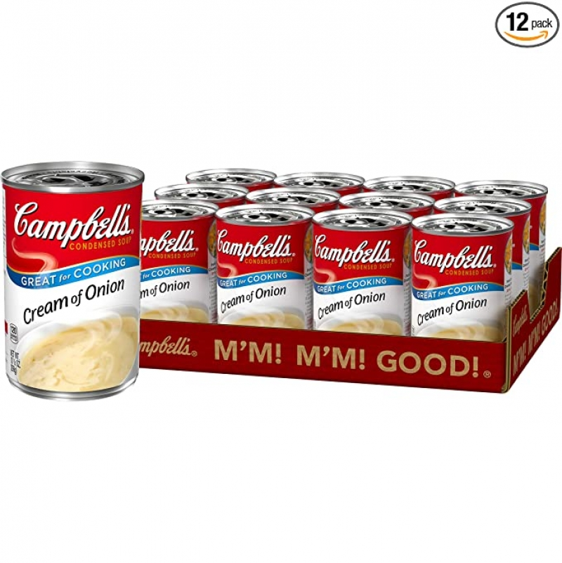 Campbell's濃縮洋蔥濃湯 10.5 oz 12罐 $15.23(原價$20.04)