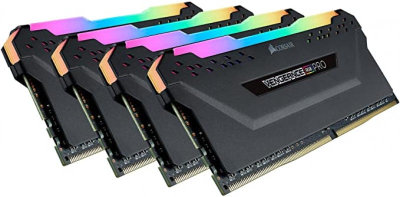 ihocon: Corsair Vengeance RGB Pro 32GB (4x8GB) DDR4 3600 (PC4-28800) C18 Desktop Memory 電腦記憶卡
