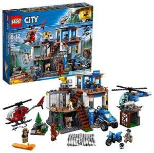 ihocon: LEGO樂高 City Mountain Police Headquarters 60174 (663 Piece)