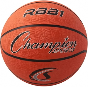 ihocon: Champion Sports Official Heavy Duty Rubber Cover Nylon Basketballs 籃球