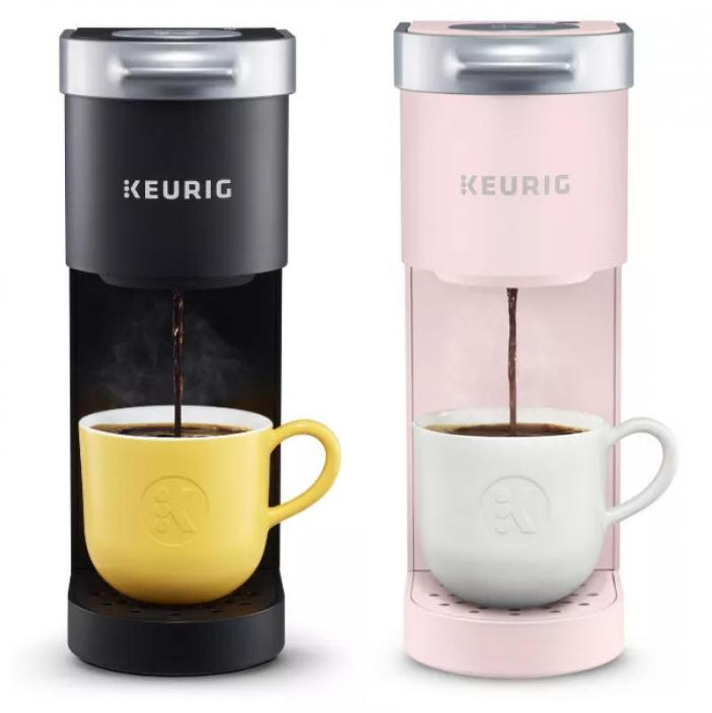 ihocon: Keurig K-Mini Coffee Maker, Single Serve K-Cup Pod Coffee Brewer, 6 to 12 oz. Brew Sizes 單杯膠囊咖啡機-多色可選