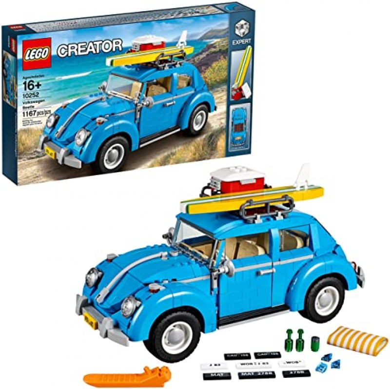 ihocon: LEGO Creator Expert Volkswagen Beetle 10252 Construction Set (1167 Pieces) 金龜車