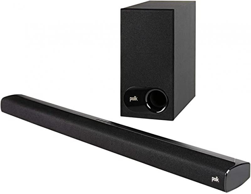 ihocon: Polk Audio Signa S2 Ultra-Slim TV Sound Bar, Wireless Subwoofer | Includes HDMI & Optical Cables | Bluetooth Enabled 長條形音箱及低音炮