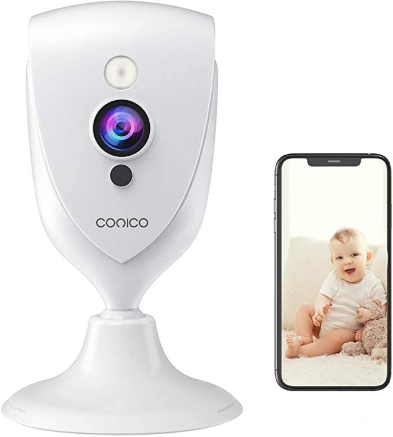 ihocon: Conico 1080P HD Wireless Security Baby Monitor Camera, Compatible with Alexa 兒童/寵物監看器