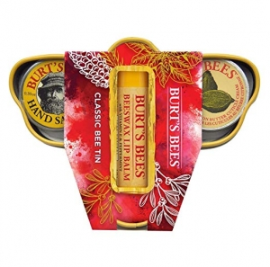 ihocon: Burt's Bees Classic Bee Tin Holiday Gift Set 禮品組