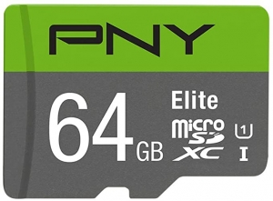 ihocon: PNY 64GB Elite Class 10 U1 MicroSDXC Flash Memory Card記憶卡