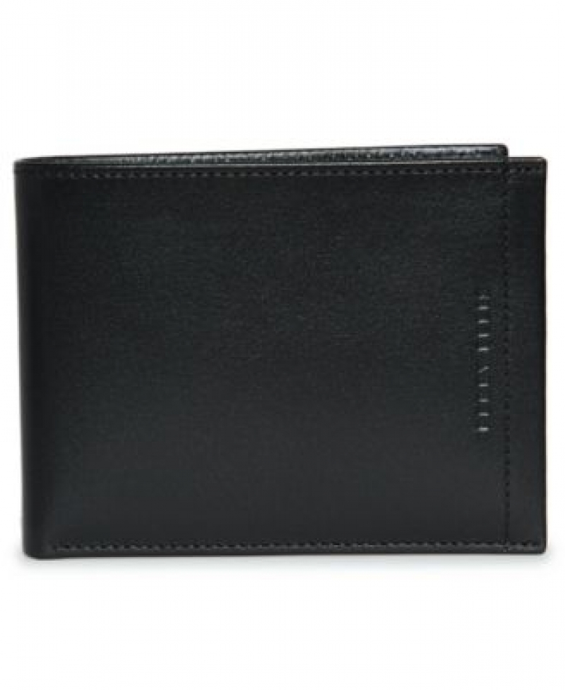 ihocon: Perry Ellis Portfolio Men's Soft Touch Passcase with Removable ID Wallet  男士皮夾