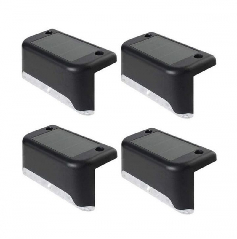 ihocon: Solar Powered Waterproof LED Deck Lights (4-Pack) 太陽能LED室外燈4盞