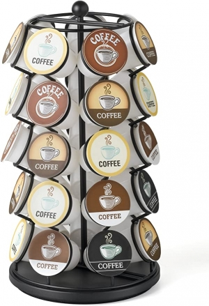 ihocon: K-Cup Carousel - Holds 35 K-Cups 旋轉咖啡膠囊置放架