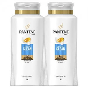 ihocon: Pantene Pro-V Shampoo and Conditioner 2 in 1, 25.4 Fl Oz, Pack of 2 潘婷2合1洗髮/護髮乳