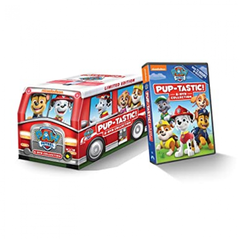 ihocon: PAW Patrol: Pup-Tastic! 8-DVD Collection Limited Edition Marshall's Fire Truck