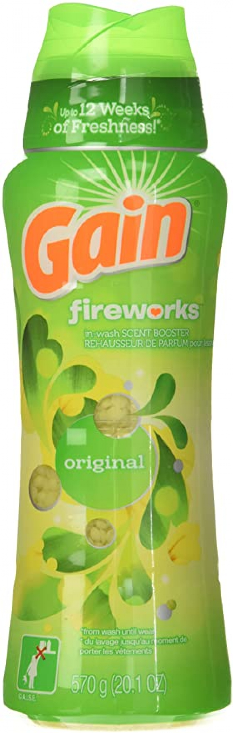ihocon: Gain Fireworks In-Wash Scent Booster, Original, 20.1 Ounce 衣物芳香劑