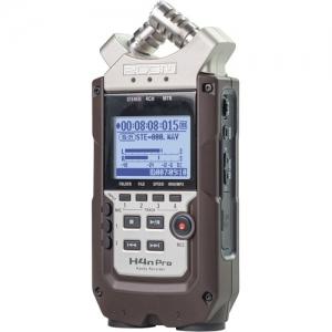 ihocon: Zoom H4n Pro 4-Input / 4-Track Portable Handy Recorder with Onboard X/Y Mic Capsule (Dark Brown) 手持錄音機