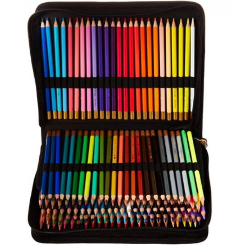 ihocon: Thornton's Art Supply Colored Pencil Artist Set with Case (150-Piece) 彩色鉛筆含收納袋