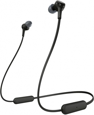 ihocon: Sony WI-XB400 Wireless In-Ear Extra Bass Headset/Headphones with mic for phone call, Black 超重低音藍芽無線耳機