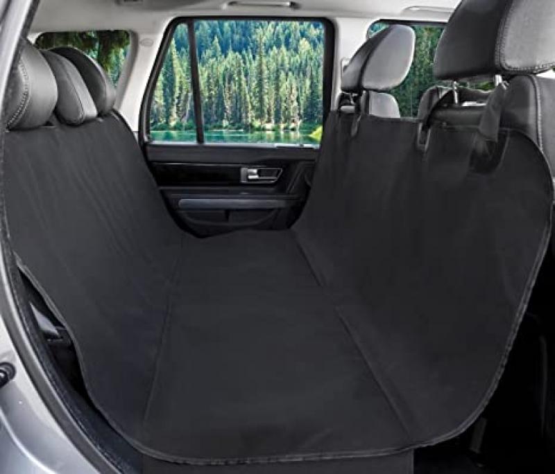 ihocon: BarksBar Original Pet Seat Cover for Cars Waterproof & Hammock Convertible 防水寵物汽車坐墊