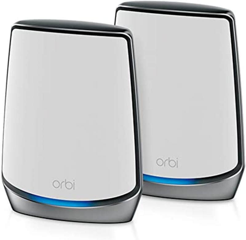 ihocon: NETGEAR Orbi Whole Home Tri-band Mesh WiFi 6 System全家網路系統(覆蓋up to 5,000 sq. ft. and 100+ Devices)