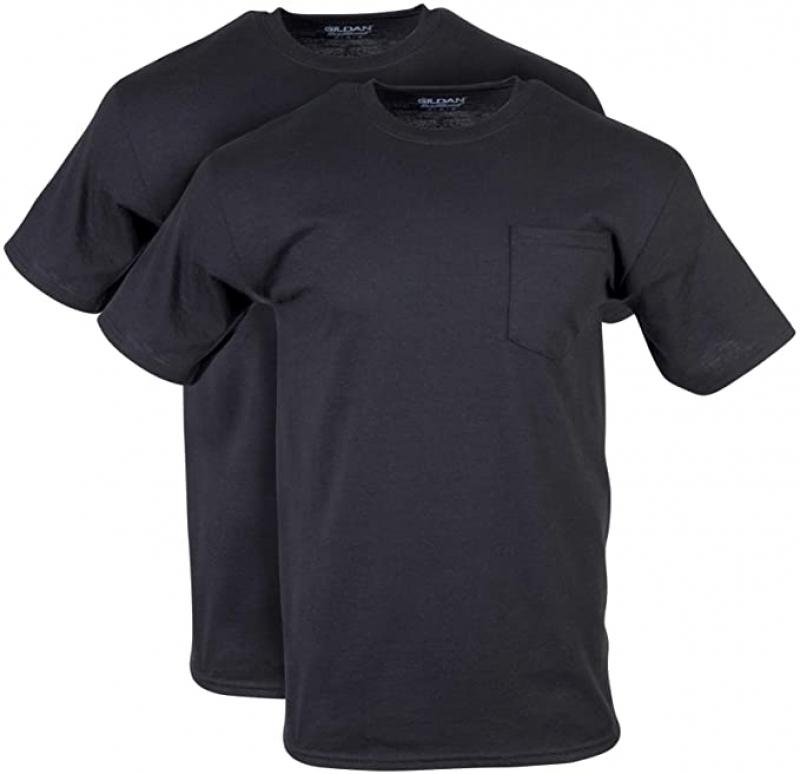 Gildan 男士快乾短袖衫2件 $4.75(原價$14.99)