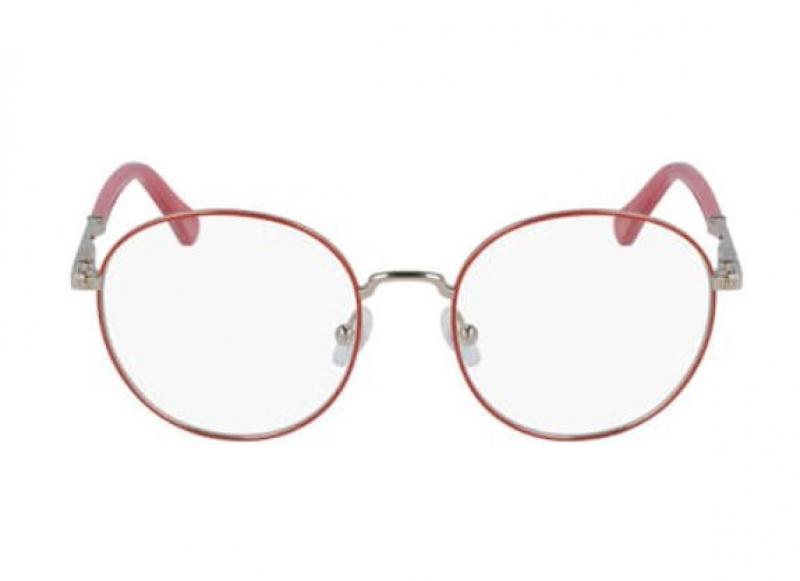 ihocon: Chloe Metal Round 46mm Optical Frames 女士眼鏡鏡框