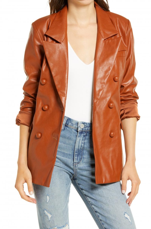 BLANKNYC 女士仿皮外套 $48.90(原價$98)