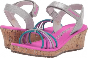 ihocon: Skechers Kids Girl's Tikis 86411L (Little Kid/Big Kid) 童鞋