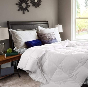 ihocon: Maple Down 90x90 Superior White Queen Down Alternative Comforter 被子