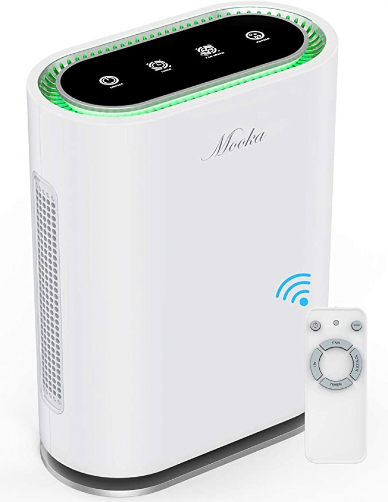 ihocon: MOOKA True HEPA+ Smart Air Purifier, Large Room up to 540ft² 空氣清淨機/空氣淨化器