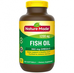 ihocon: Nature Made Fish Oil 1,200 mg Softgels, 230 Count魚油