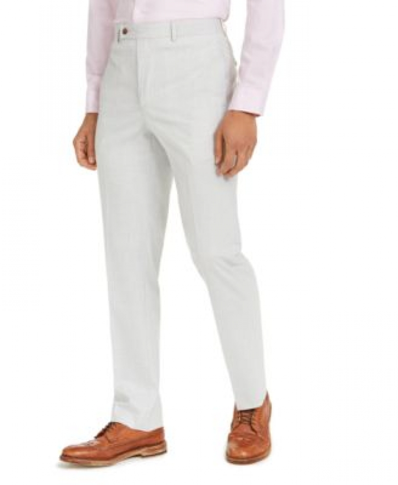 ihocon: Lauren Ralph Lauren Men's Classic-Fit UltraFlex Stretch Plaid Dress Pants   男士長褲